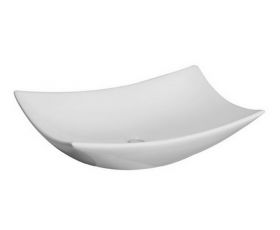 Bauhaus Magdalena 2 Countertop Washbasin - Without Ledge