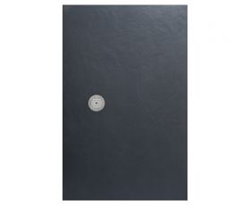 Simpsons Grey Slate Textured Shower Tray