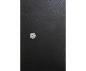 Simpsons Black Slate Textured Shower Tray