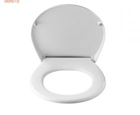 Pressalit 718 Soft Close Toilet Seat with Cover