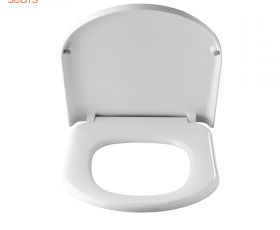Pressalit 720 Soft Close Toilet Seat with Cover
