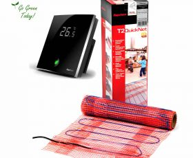 Raychem T2Quicknet 160 Underfloor Heating Mat With Touchscreen Controller