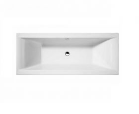 Essential Wave Double Ended Square Bath