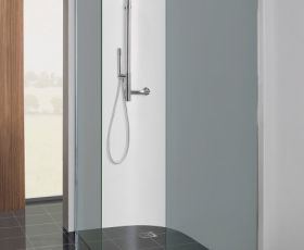 Simpsons Limited Edition Design 10mm Shower Screen