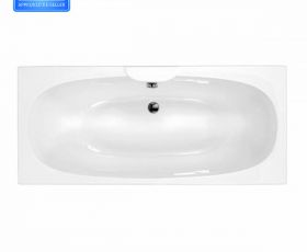 Carron Napoli 1700x750mm Double Ended Bath