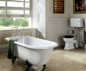 Burlington Blenheim Single Ended Bath