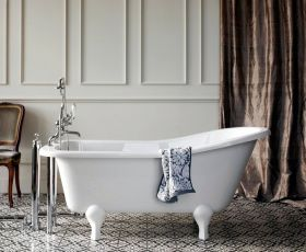 Burlington Buckingham Slipper Bath
