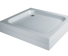 Just Trays Merlin Rectangle Flat Top Shower Tray (Large)