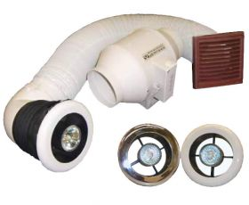 Vectaire LuxVent Plus Extractor Fan + Kit