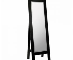 Imperial Astoria Deco Cuda Metal Weave Cheval Mirror