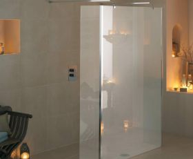 Manhattan M3 Linear Wet Room Screen with Double Return Panels