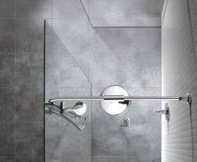 Manhattan 900mm Corner With 900mm End Panel Wetroom Package