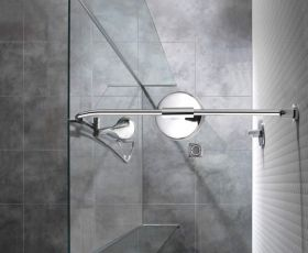 Manhattan 1200mm Linear With Double Return Wetroom Package