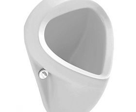 V & B Omnia Pro Siphonic Urinal 7504 (Exposed inlet/outlet)