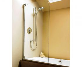 Showerlux Swing Moderna Shower Screen (915mm)