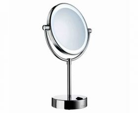 Smedbo Outline LED Illuminated Make-up Mirror FK474