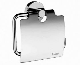 Smedbo Home Toilet roll holder with lid