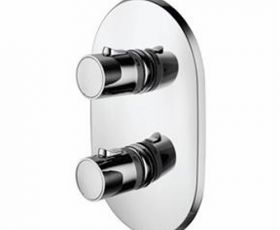 Ideal Standard Cone Thermostatic Shower Face Plate & Trevi Valve