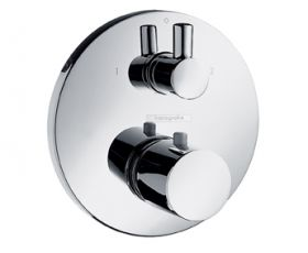 Hansgrohe Ecostat S Thermostatic Concealed Shower Valve with Diverter
