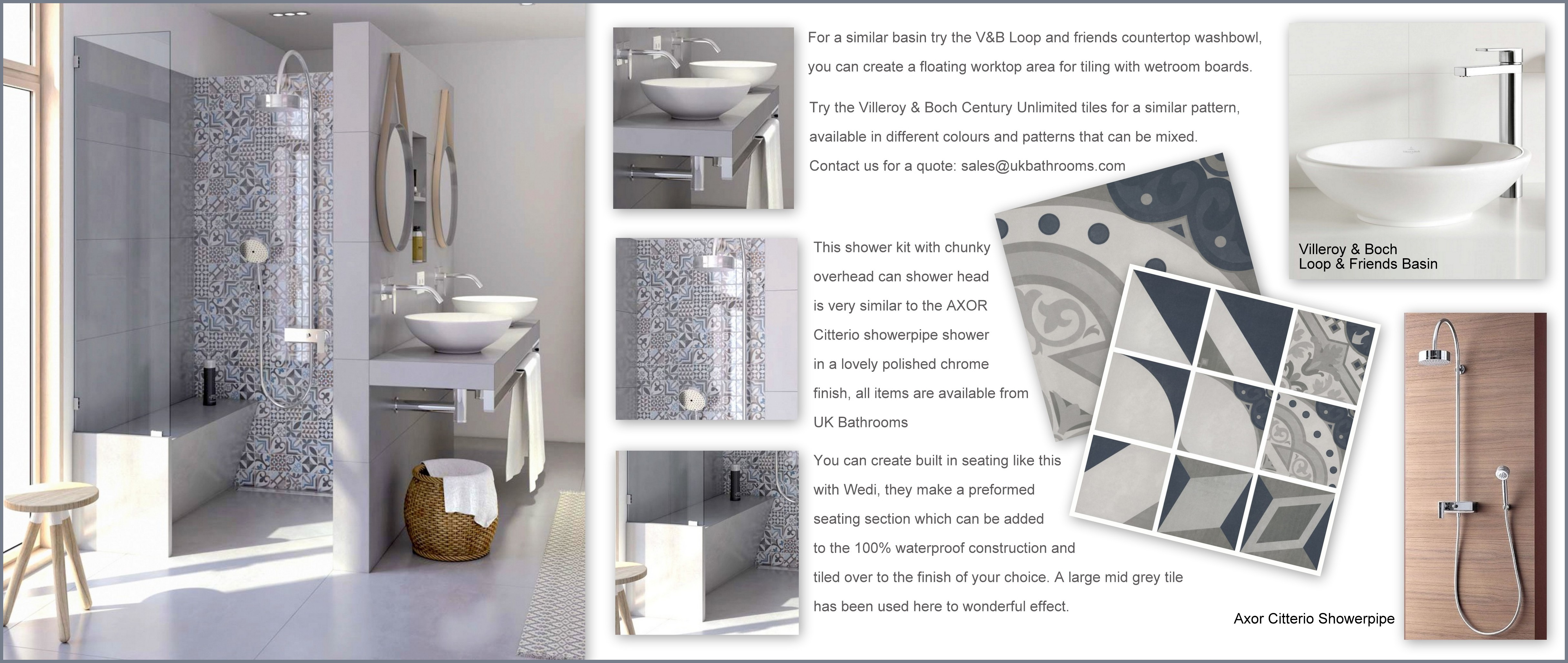Wedi wetroom inspiration