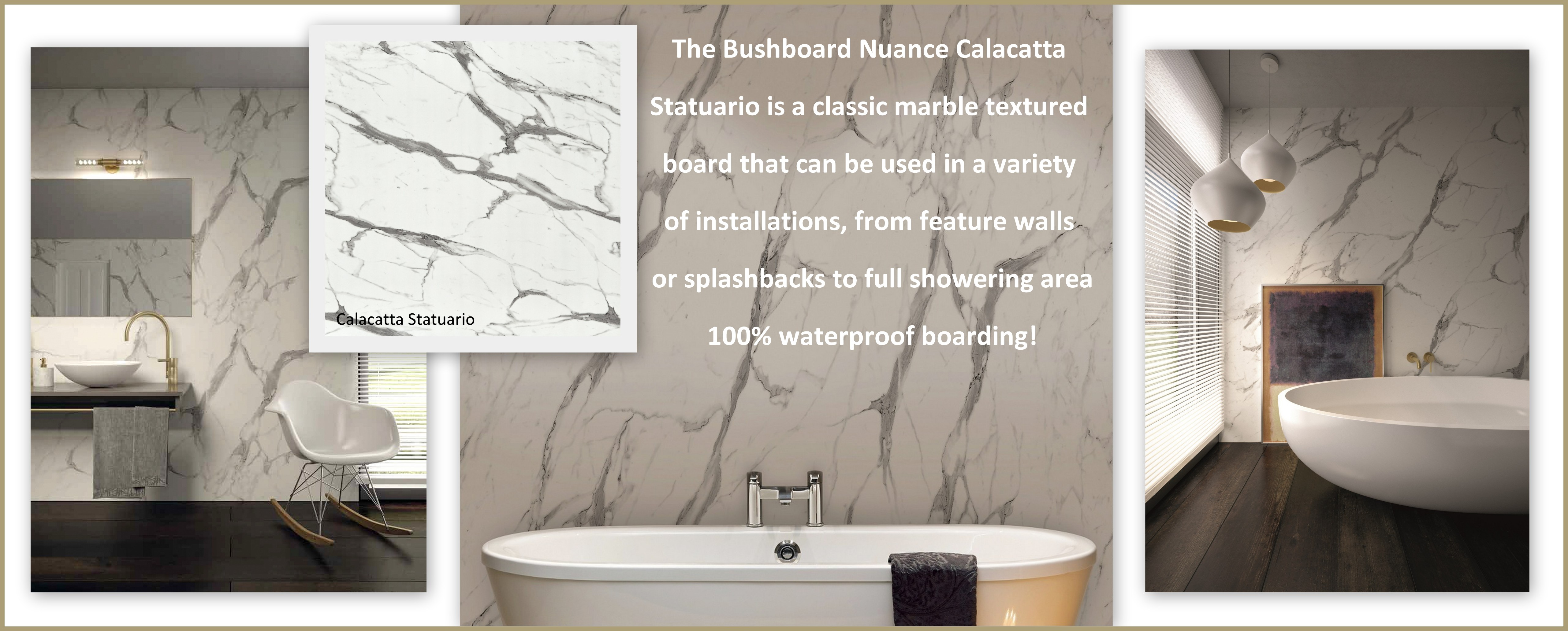 Nuance shower wall panels