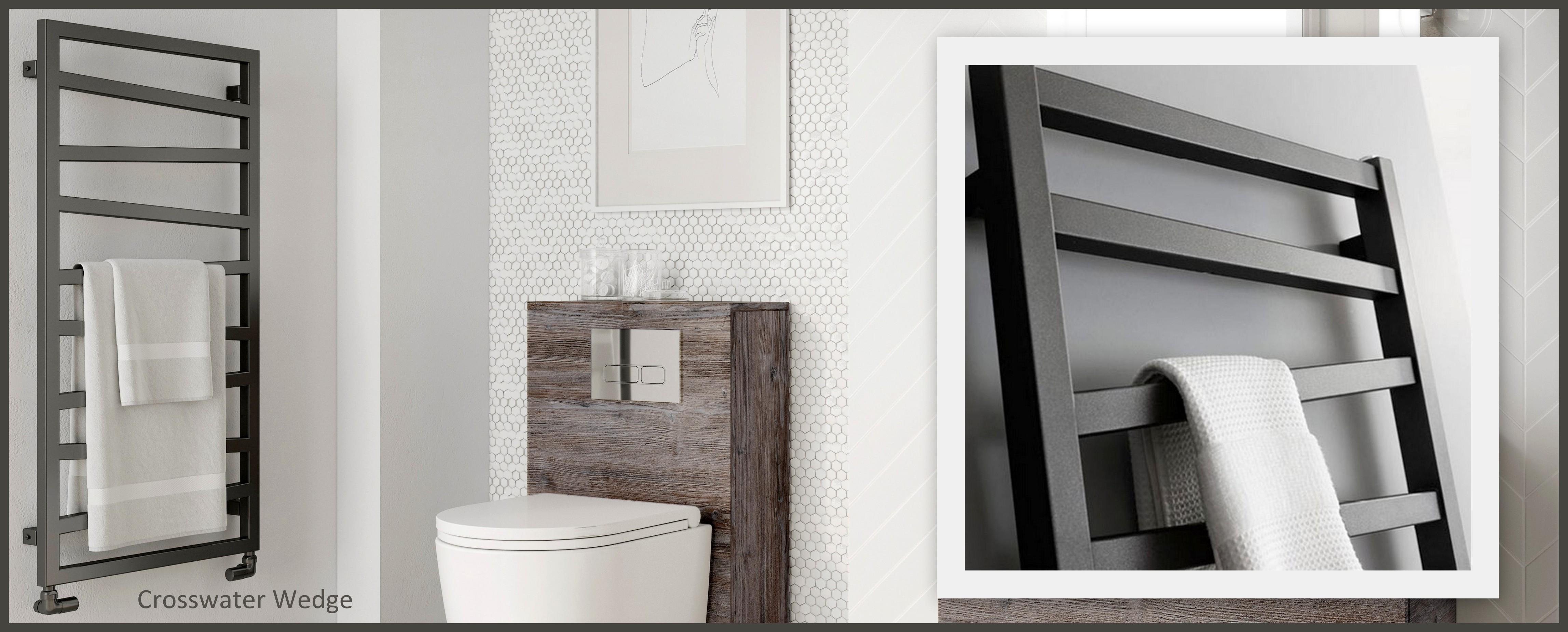 Black Bathroom Radiators Towel Rails Uk Bathrooms