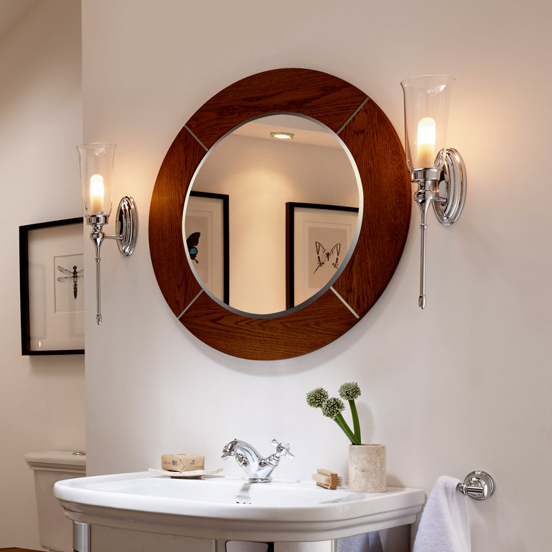 Note Also That Many Small And Um Sized Mirrors Can Be Ed With Optional Hinged Brackets Bring The Mirror Away From Wall Allowing It To Tilt