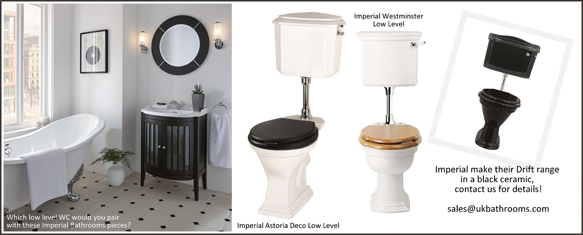 Imperial Toilets Low Level