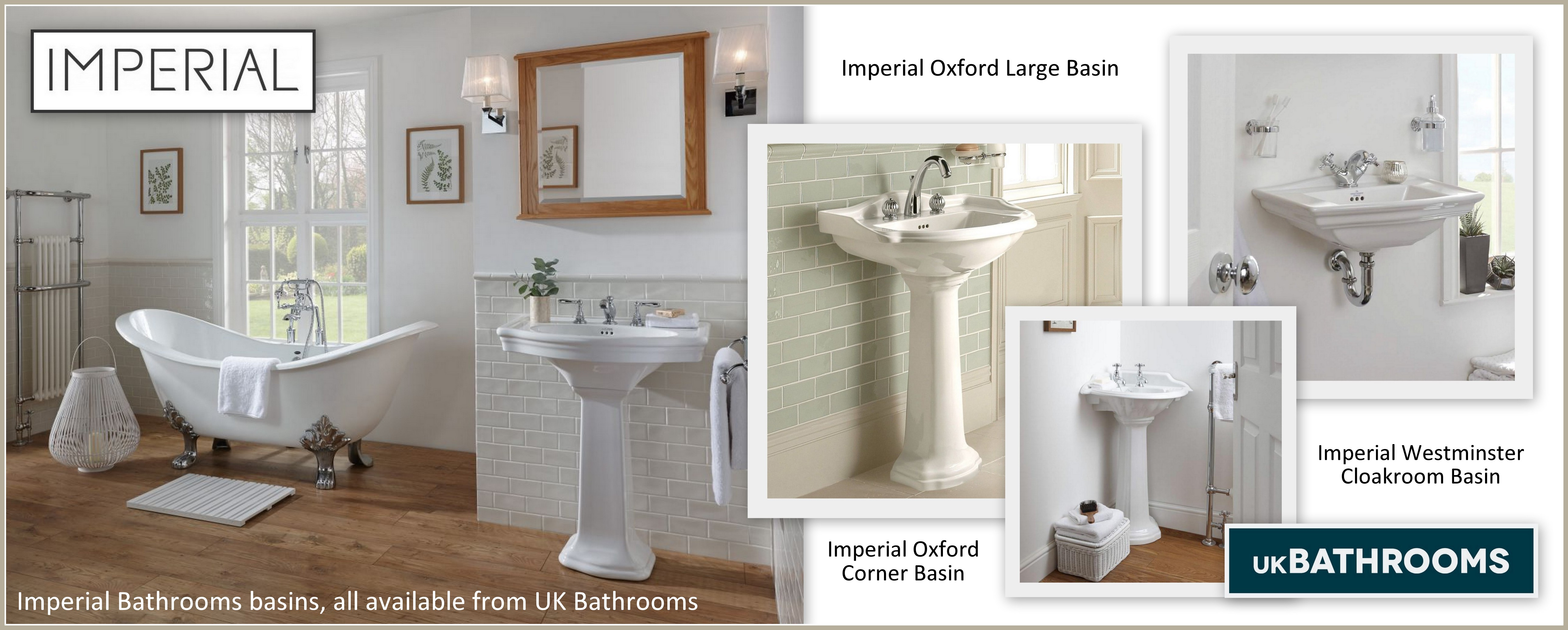Imperial Bathrooms Basins