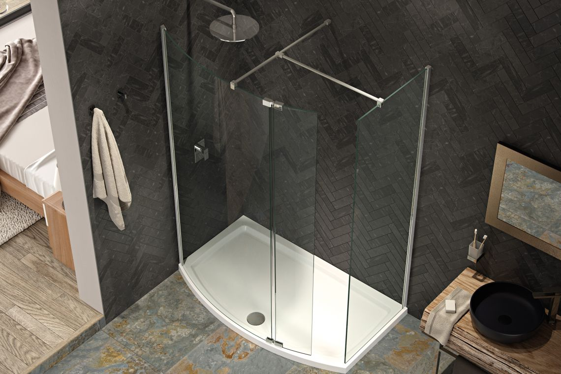 Kudos Shower Enclosures, Doors and Trays : UK Bathrooms