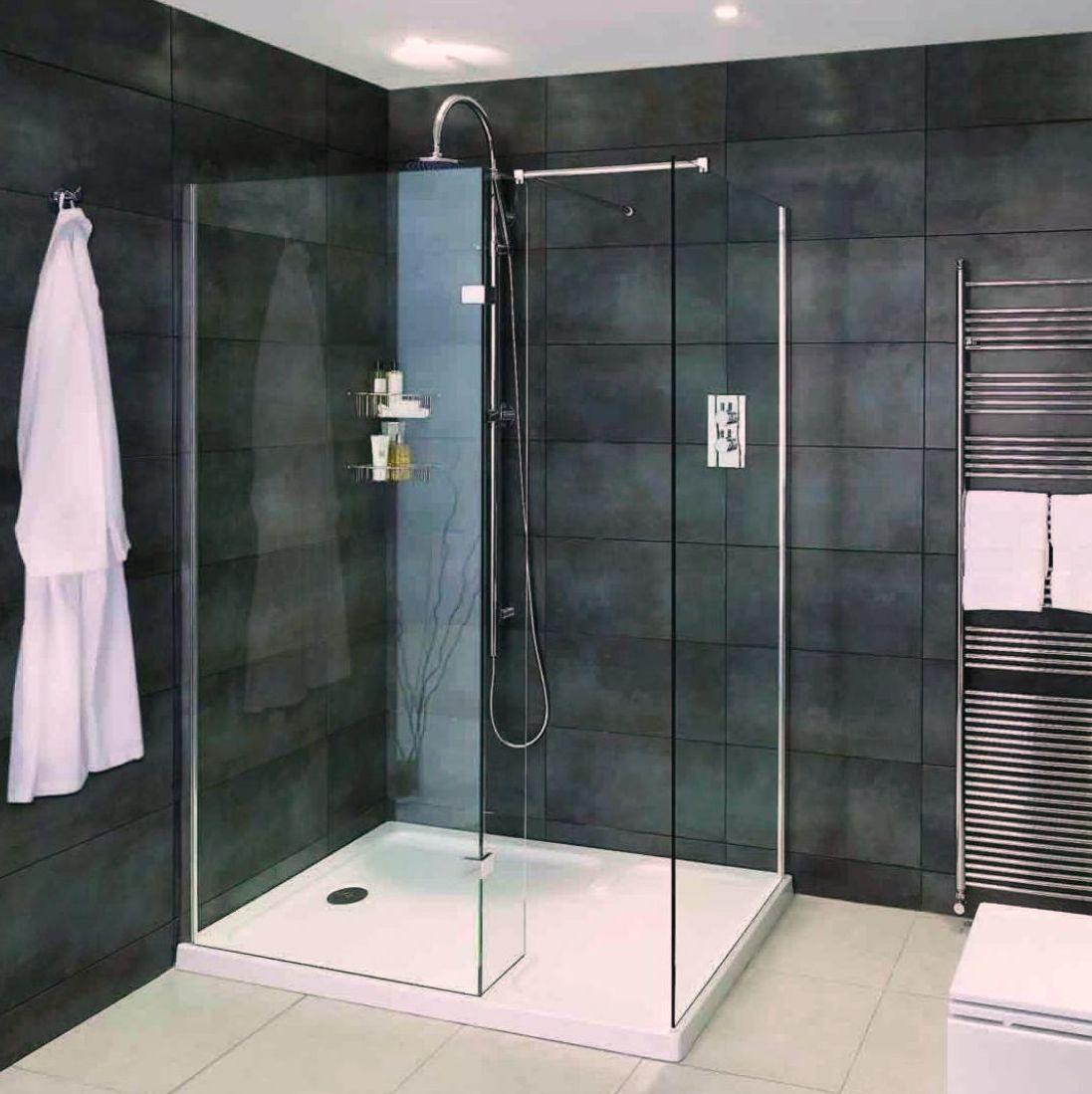 Shower Enclosures Including Walking Showers  Quadrant Enclosures - Shower doors for walk in showers