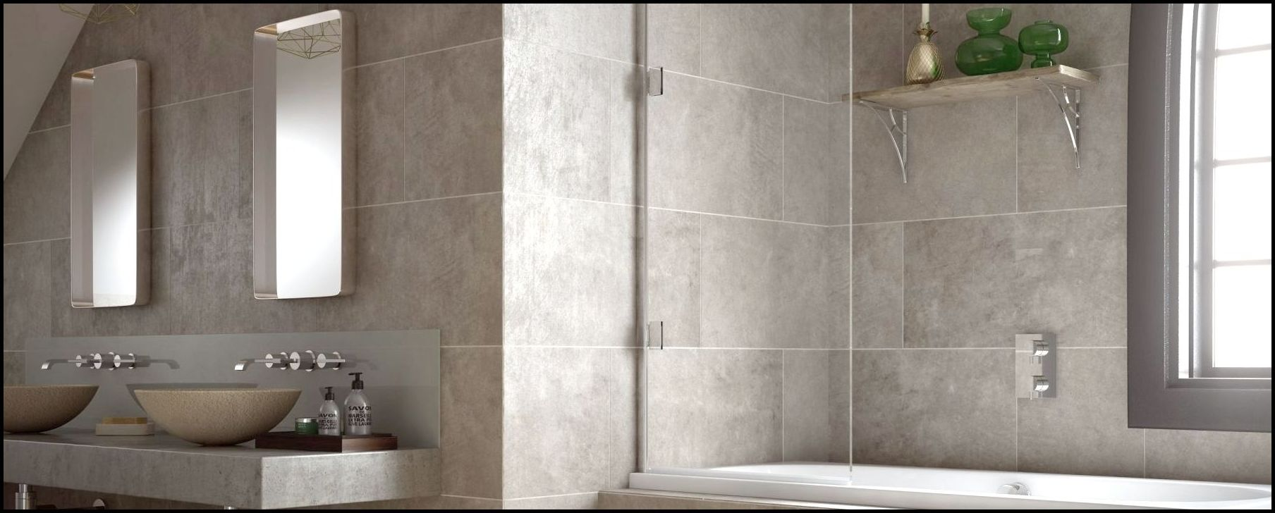 Eleganza-Single-Bath-Screen