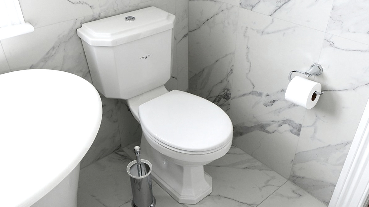 Perrin and Rowe Deco Toilet