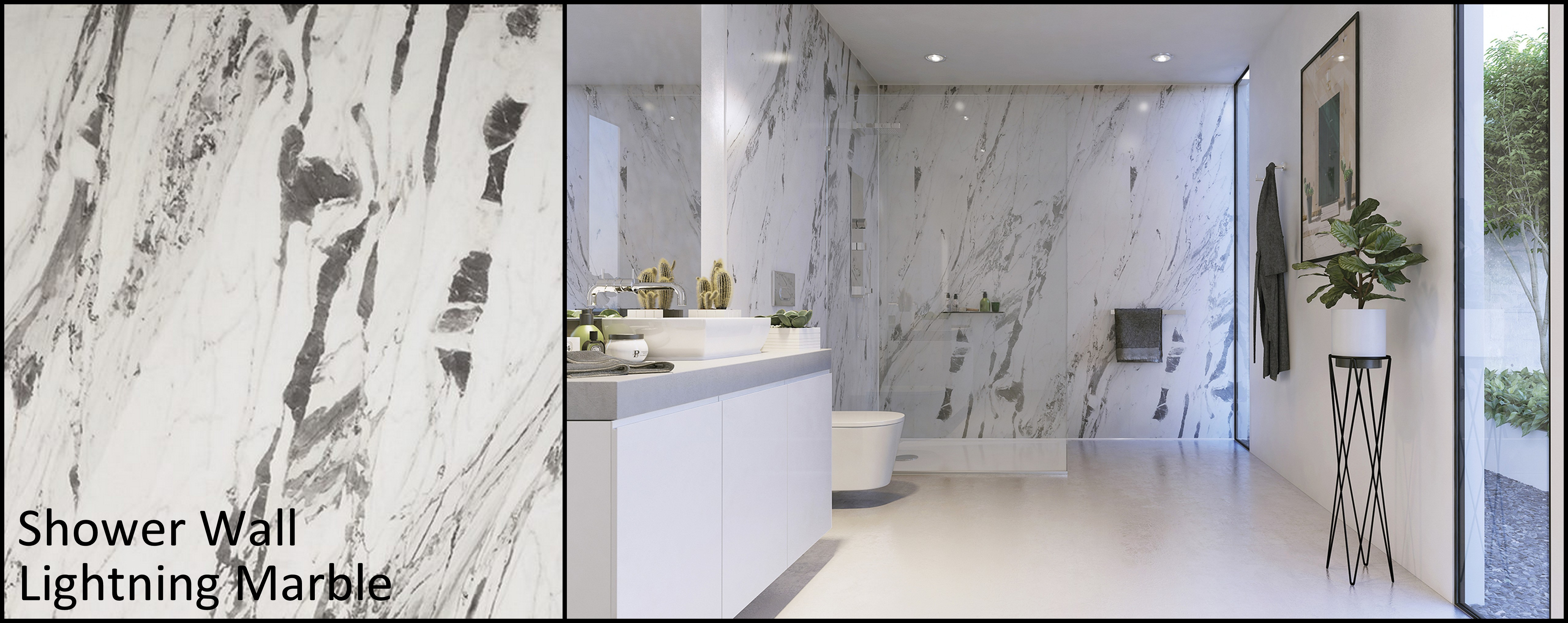 Shower Wall Panels : UK Bathrooms