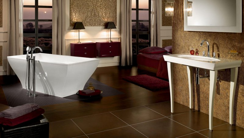 Featured In The Image Above Villeroy Boch La Belle Basin Le Bath