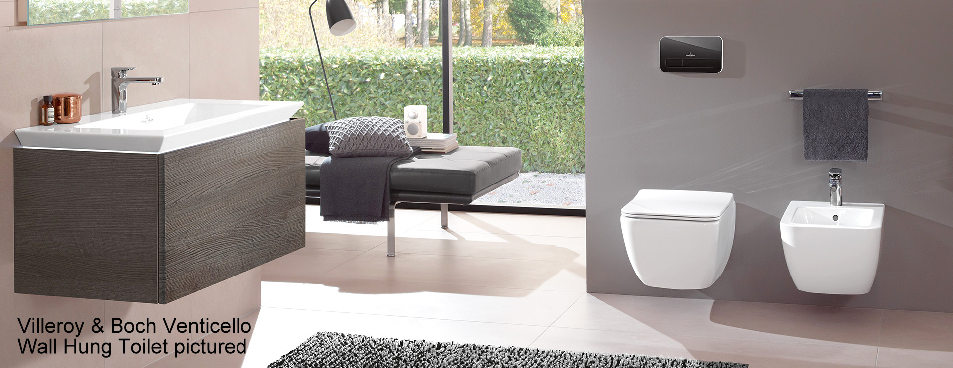 Villeroy and Boch Venticello Rimless Toilet