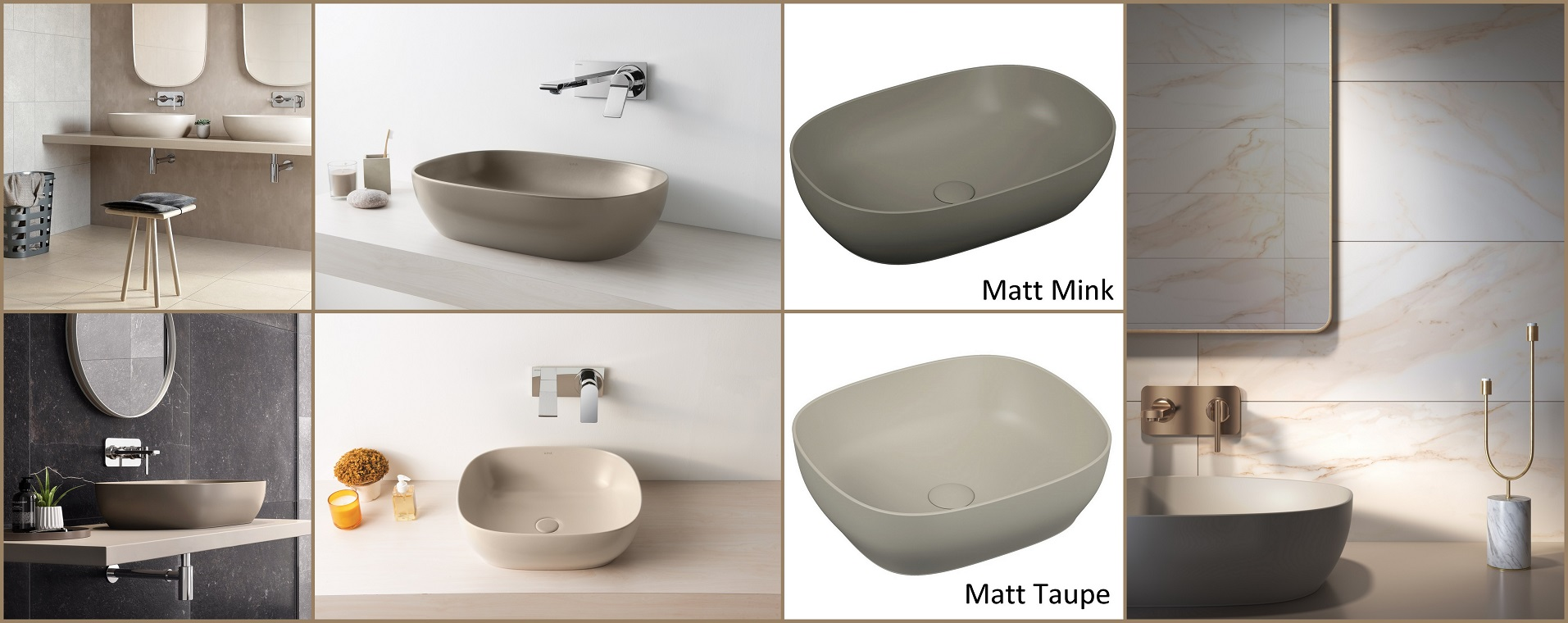 VitrA coloured basins