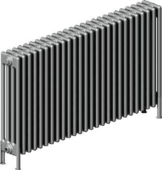 BIANCO 4 COLUMN CAST IRON COLUMN RADIATOR BY THE RADIATOR COMPANY