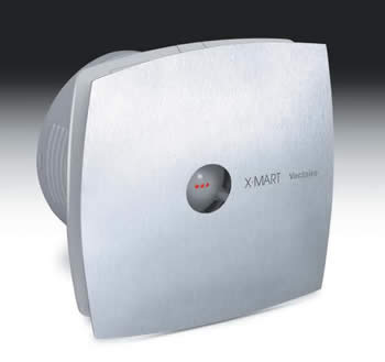 Vectaire X-Mart Premium Deluxe Axial Fan (Auto grill) : UK Bathrooms