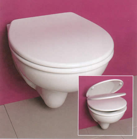 Essential Soft Close Toilet Seat