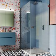 Thumbnail Image For Hinged Shower Doors