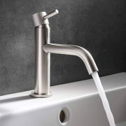 Thumbnail Image For Brushed Steel Taps