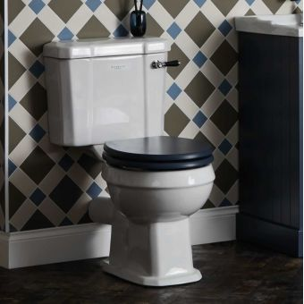 Bayswater Fitzroy Close Coupled Toilet with Ceramic Lever Flush