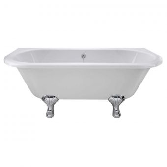 Bayswater Courtnell Traditional Back to Wall Freestanding Bath