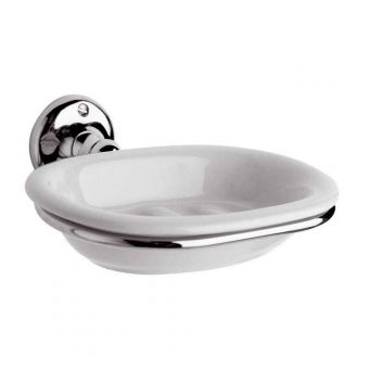 Bayswater Traditional Soap Dish & Holder