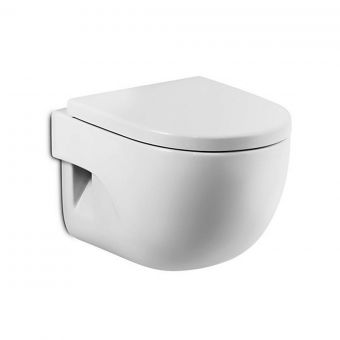 Roca Meridian-N Wall Hung Toilet with Soft Close Seat