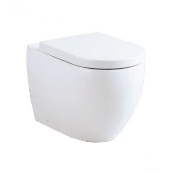 Abacus Vessini Opaz Back to Wall Toilet with Soft Close Seat