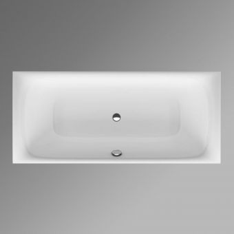 Bette Lux 1700x750mm Steel Bath with Feet 0 Tap Holes