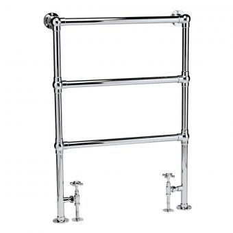 Bayswater Juliet Floor Mounted Towel Rail