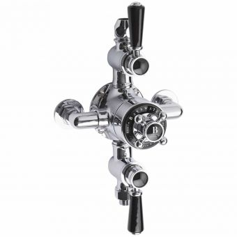 Bayswater Traditional Triple Exposed Thermostatic Shower Valve